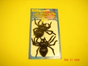 JAZZY JELS SPIDERS ON CARD