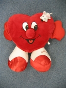 PLUSH HEART WITH MOUSE(L)